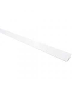 Mr Plastic PVC Hygienic Wall Sheet H Join Trim - 2440mm x 2.5mm