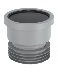 "McAlpine 4"" Drain Connector - Grey"