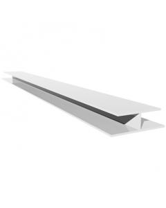 Freefoam Soffit H Joint Trim - 5 Metre - White