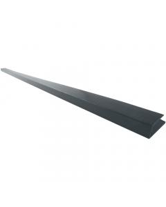 Freefoam Soffit J Starter Trim - 5 Metre - Woodgrain Anthracite Grey