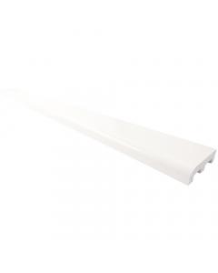 Freefoam 40mm x 12mm Plastic Architrave - 2.5 Metre - White