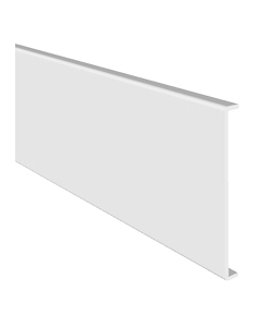 Freefoam 605mm x 10mm Double Ended Square Leg Fascia - 2.5 Metre