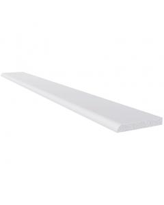Freefoam 40mm x 6mm Plastic Architrave - 2.5 Metre - White
