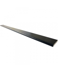 Freefoam 40mm x 6mm Plastic Architrave - 5 Metre - Woodgrain Black Ash