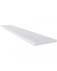 Freefoam 60mm x 6mm Plastic Architrave - 5 Metre - White