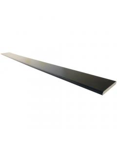 Freefoam 60mm x 6mm Plastic Architrave - 5 Metre - Woodgrain Black Ash