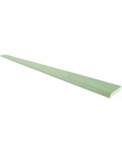 Freefoam 60mm x 6mm Plastic Architrave - 5 Metre - Woodgrain Chartwell Green