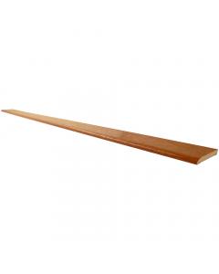 Freefoam 60mm x 6mm Plastic Architrave - 5 Metre - Woodgrain Light Oak