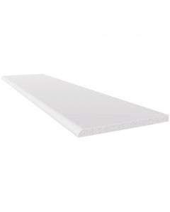 Freefoam 90mm x 6mm Plastic Architrave - 2.5 Metre - White