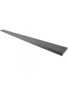Freefoam 90mm x 6mm Plastic Architrave - 5 Metre - Woodgrain Anthracite Grey