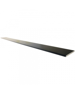 Freefoam 90mm x 6mm Plastic Architrave - 5 Metre - Woodgrain Black Ash