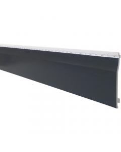 Freefoam 151mm x 10mm uPVC Shiplap Cladding - 5 Metre - Woodgrain Anthracite Grey