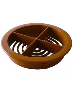 Freefoam Circular Soffit Vent - Brown