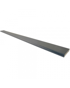 Freefoam 28mm D Section Window Plastic Trim - 5 Metre - Woodgrain Anthracite Grey