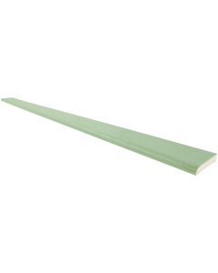 Freefoam 28mm D Section Window Plastic Trim - 5 Metre - Woodgrain Chartwell Green