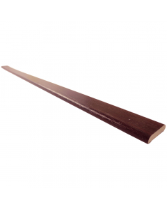 Freefoam 28mm D Section Window Plastic Trim - 5 Metre - Woodgrain Rosewood