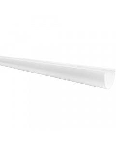 Freeflow 116mm Deep Flow Gutter - 4 Metre - White