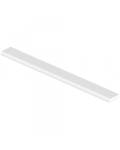 Freefoam 20mm Cloaking Fillet Window Plastic Trim - 2.5 Metre - White
