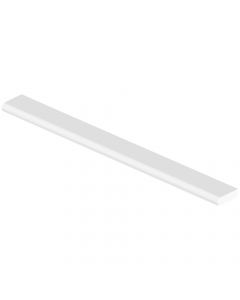 Freefoam 20mm Cloaking Fillet Window Plastic Trim - 5 Metre - White