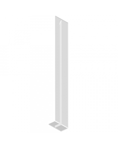 Freefoam Magnum Flat Fascia Board Double Joiner - 600mm - White