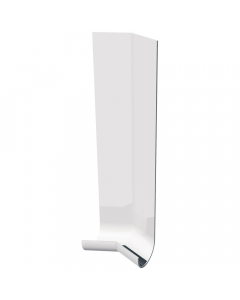 Freefoam Magnum Round Nose Fascia Board 135 Degree External Corner - 300mm - White