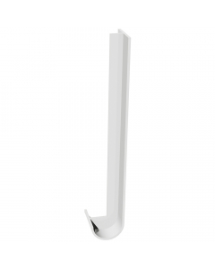 Freefoam Magnum Round Nose Fascia Board Double Joiner - 600mm - White