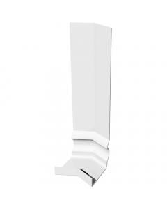 Freefoam Ogee Fascia Board 135 Degree External Corner - 300mm - White
