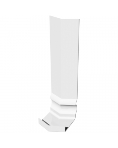 Freefoam Ogee Fascia Board 135 Degree Internal Corner - 300mm - White