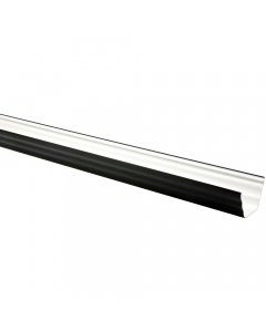 Freeflow 135mm Ogee Gutter - 4 Metre - Black