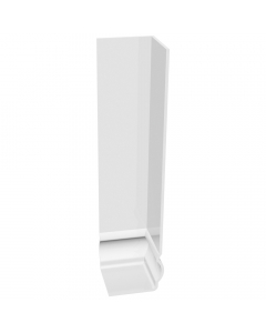 Freefoam Ogee Fascia Board External Corner - 300mm - White