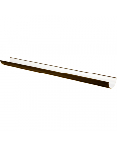 Freeflow 112mm Half Round Gutter - 2 Metre - Brown