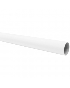 Freeflow 68mm Round Down Pipe - 4 Metre - White