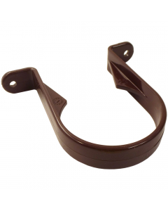 Freeflow 68mm Round Down Pipe Clip - Brown