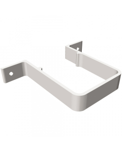 Freeflow 65mm Square Down Pipe Clip - White