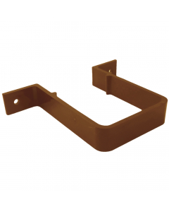 Freeflow 65mm Square Down Pipe Clip - Caramel