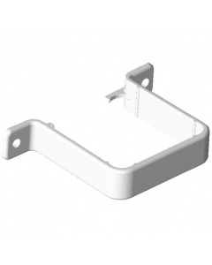 Freeflow 65mm Square Down Pipe Flush Pipe Clip - White