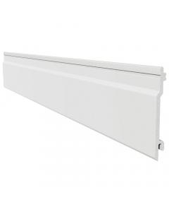 Freefoam 100mm x 10mm uPVC Open V Cladding - 5 Metre - White