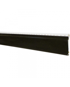 Freefoam 100mm x 10mm uPVC Open V Cladding - 5 Metre - Woodgrain Black Ash