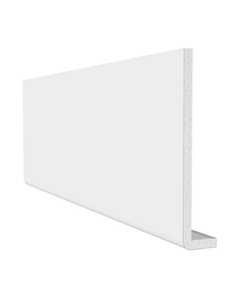 Freefoam 150mm x 10mm Plain Cap Over Fascia - 5 Metre - White