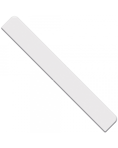 Freefoam Square Edged Fascia Board Large End Cap - 300mm - White