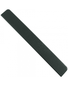 Freefoam Square Edged Fascia Board Large End Cap - 300mm - Woodgrain Anthracite Grey