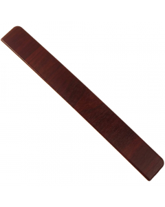 Freefoam Square Edged Fascia Board Large End Cap - 300mm - Woodgrain Rosewood
