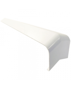 Freefoam Square Edged Fascia Board 135 Degree External Corner - 300mm - White