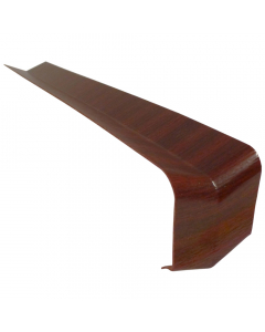 Freefoam Square Edged Fascia Board 135 Degree Internal Corner - 300mm - Woodgrain Mahogany