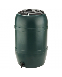 Ward Plastic Water Butt - 120 Litre - Green
