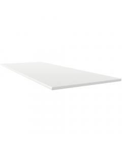Freefoam 100mm x 10mm Solid Soffit Board - 2.5 Metre - White