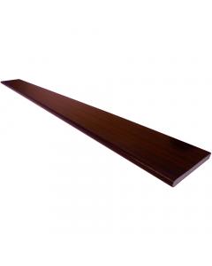 Freefoam 100mm x 10mm Solid Soffit Board - 5 Metre - Woodgrain Mahogany