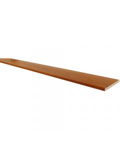 Freefoam 100mm x 10mm Solid Soffit Board - 5 Metre - Woodgrain Light Oak