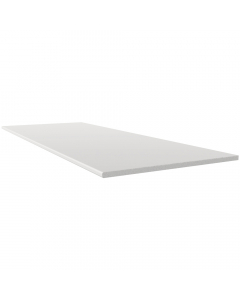 Freefoam 250mm x 10mm Solid Soffit Board - 2.5 Metre - White