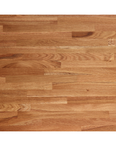 Tuscan Solid Wood Unfinished European Oak Breakfast Bar Worktop - 2400mm x 900mm x 60mm